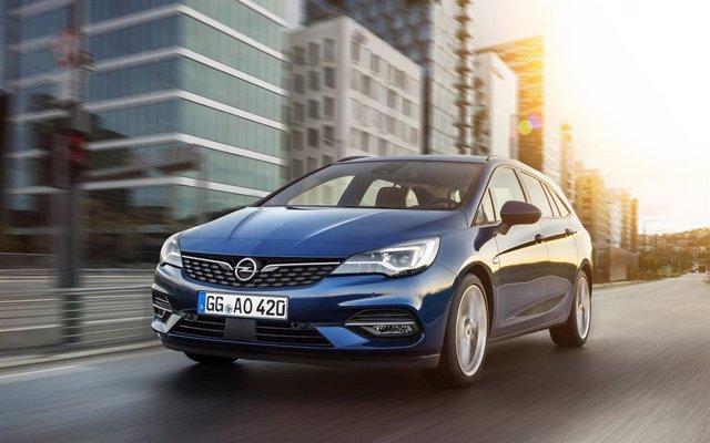 Imagen del Opel Astra.