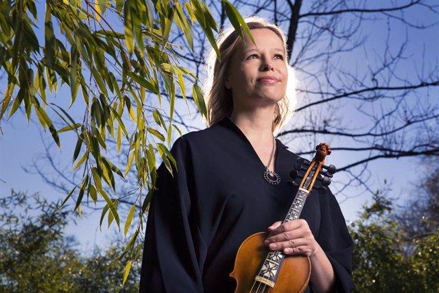 La violinista Anne Hytta