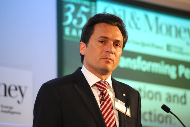 El ex director general de Pemex Emilio Lozoya Austin