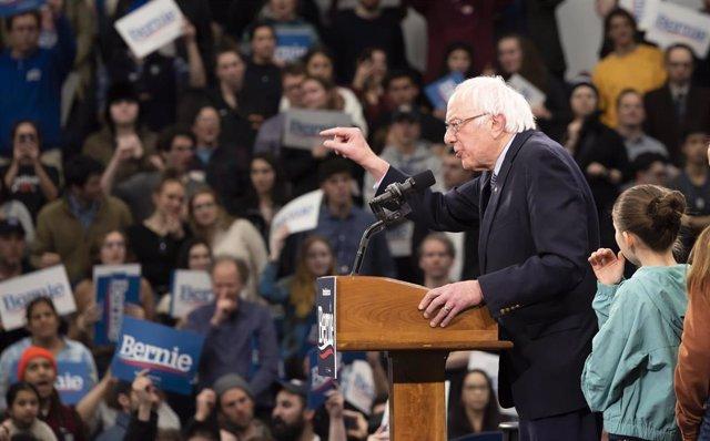 El precandidato demócrata a la Casa Blanca Bernie Sanders
