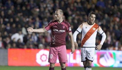 La segunda parte del Rayo-Albacete se jugará el miércoles 19 de febrero