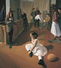 Una de las pinturas de Ignacio Mayayo