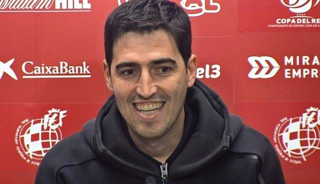 """Fútbol/Copa.- Iraola: """"Estamos obligados a dar el nivel más alto y ya veremos es"""