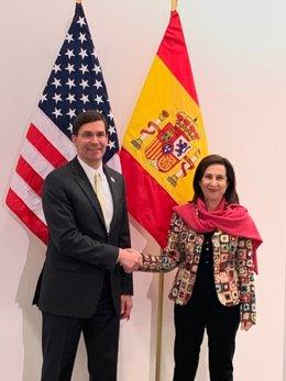 """Robles pide a EEUU que suprima sus aranceles """"exorbitados"""" a un socio en Defensa"""