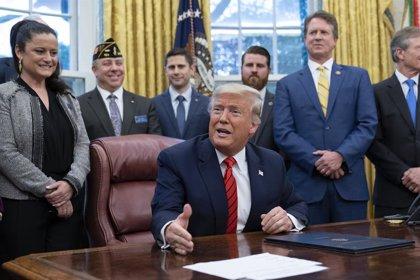 EEUU/Irán.- Trump pide al Senado que no apruebe la resolución que limitaría su capacidad militar contra Irán