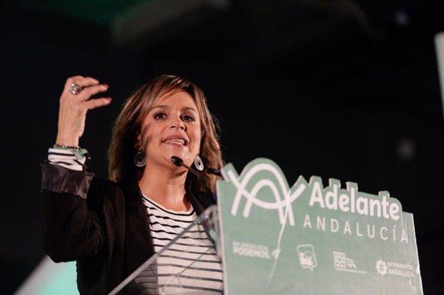 La parlamentaria de Adelante por Huelva María Gracia González