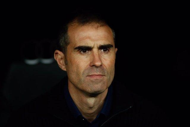 """Fútbol/Copa.- Garitano: """"El equipo está cabreado, nos quitan un gol"""""""