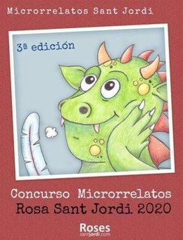 Cartel del concurso Microrrelatos 2020