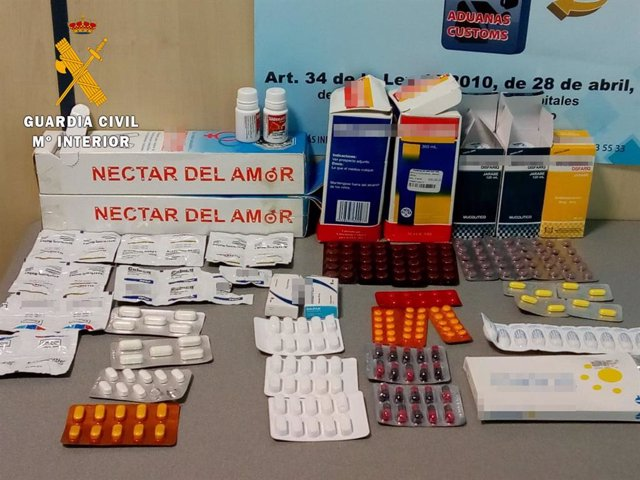 Sucesos.- Incautados un kilo de hojas de coca y 500 medicamentos sin prescripció