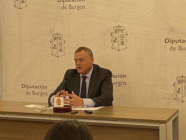 Lorenzo Rodríguez, vicepresidente de la Diputación de Burgos.