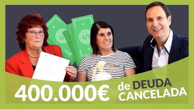 COMUNICADO: Repara tu deuda Abogados cancela 180.383 € a un matrimonio de Madrid