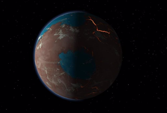 Marte pudo formarse más pausadamente de lo pensado
