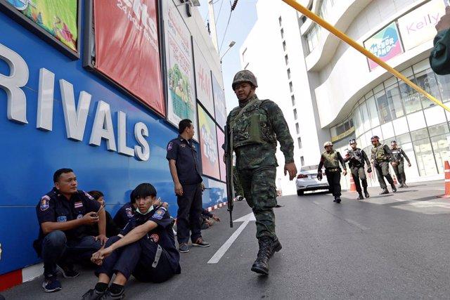 Tailandia.- Reabre sus puertas el centro comercial de Tailandia en que se atrinc