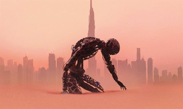 Imagen del cartel de la 3ª temporada de Westworld