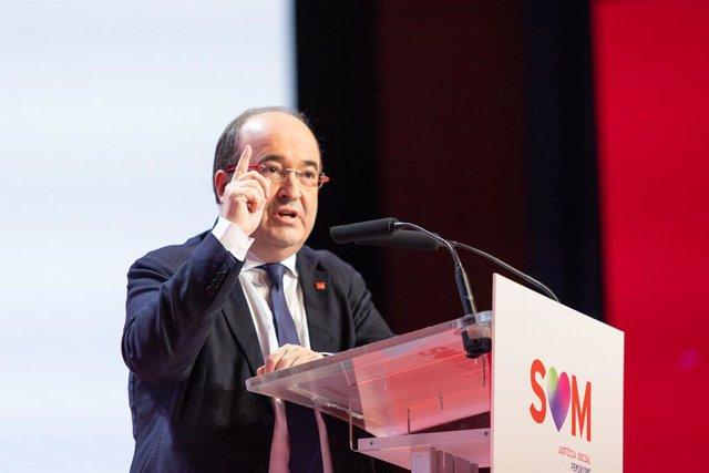 El primer secretari del PSC, Miquel Iceta (arxiu)