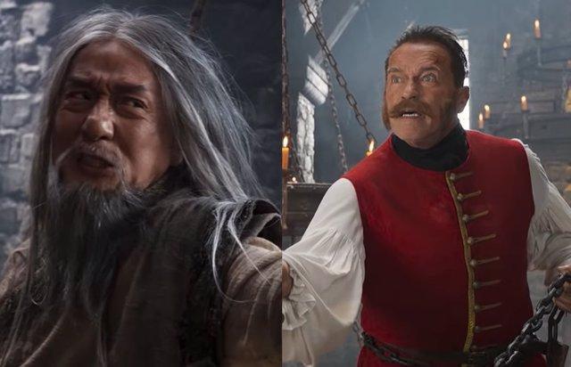 Jackie Chan y Arnold Schwarzenegger, cara a cara en el tráiler de The Iron Mask