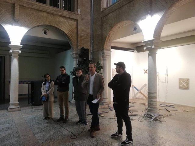 Inauguración de la exposición en Cazorla