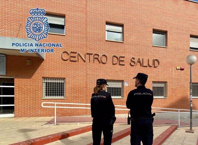 Policía Nacional detiene al autor de coaccionar y amenazar a una médica en un centro sanitario de Murcia
