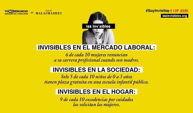 Campaña Las Invisibles de Malas Madres