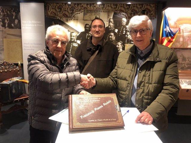 Ernic Mir, Josep Mases Giné i Francisco Javier Cortijos.