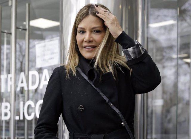 Ivonne Reyes, en los juzgados de Plaza Castilla