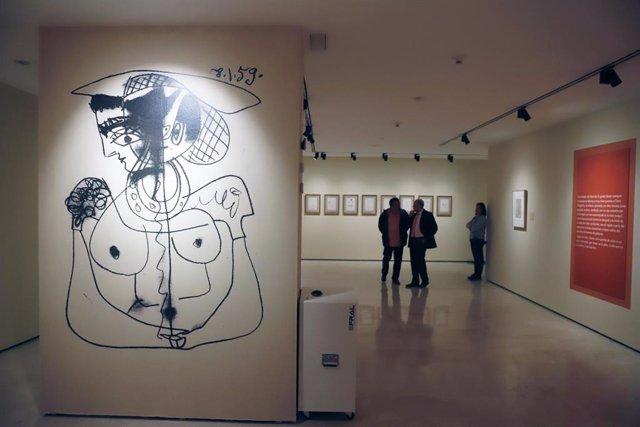 Exposición temporal de la Fundación Picasso Museo Casa Natal 'Trozo de Piel Cela-Picasso, pasiones compartidas' en Málaga a 13 de febrero 2020