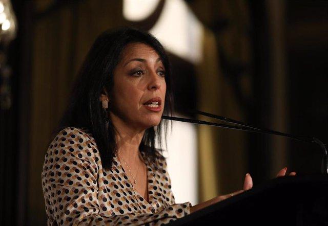 La presidenta del Parlamento, Marta Bosquet, en una imagen de archivo.