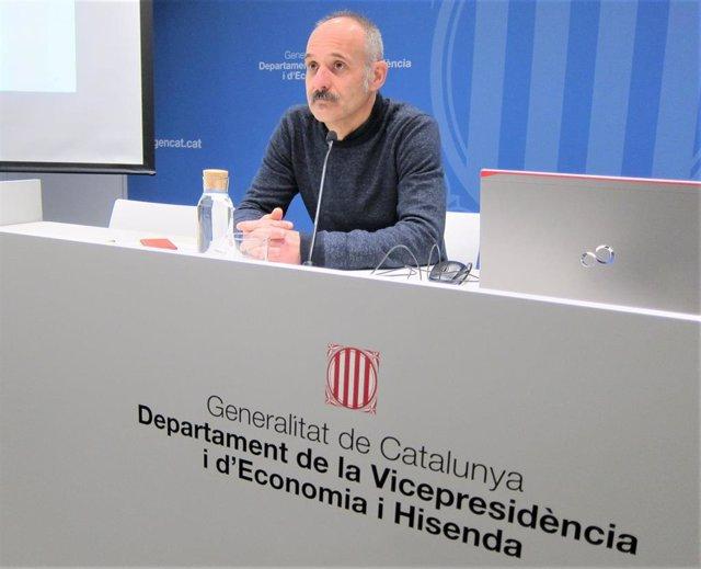 Adam Majó, director de la Oficina de Drets Civils i Polítics de la Generalitat (archivo)