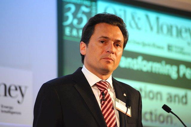 El exdirector general de la petrolera mexicana Pemex Emilio Lozoya