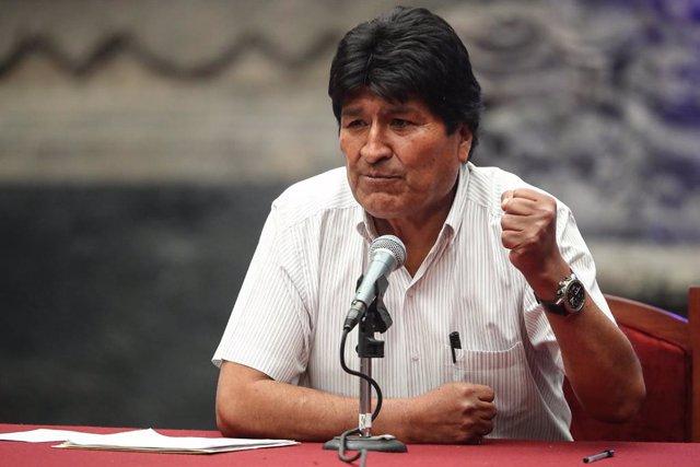 """Bolivia.- Morales pide a la comunidad internacional que apoye su """"gran acuerdo p"""