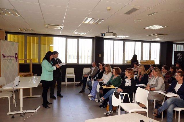 Presentación del programa Univergem entre la UMA y el IAM
