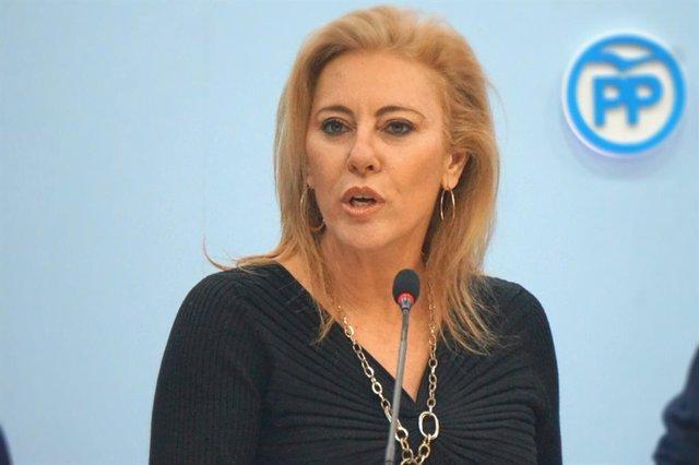 Carolina España , diputada del PP por Málaga