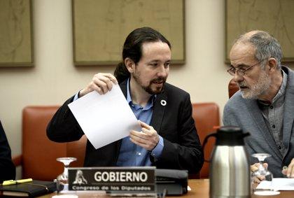 Pablo Iglesias asegura un ingreso mínimo vital y reducir un 75% la lista de espera de la dependencia