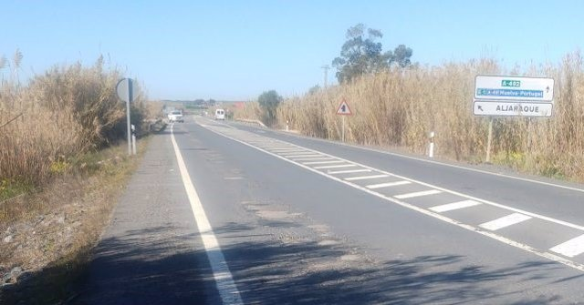 La carretera A-492