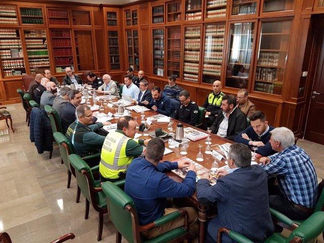 Planificación del dispositivo especial para la Vuelta Ciclista a Andalucía.