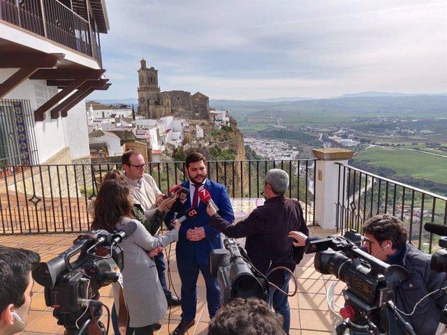 El delegado territorial de Turismo de la Junta en Cádiz, Miguel Rodríguez