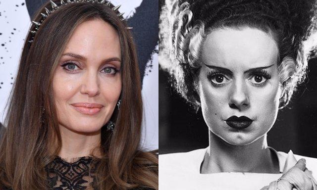 Angelina Jolie podría tomar el relevo de Elsa Lanchester como la Novia de Frankenstein