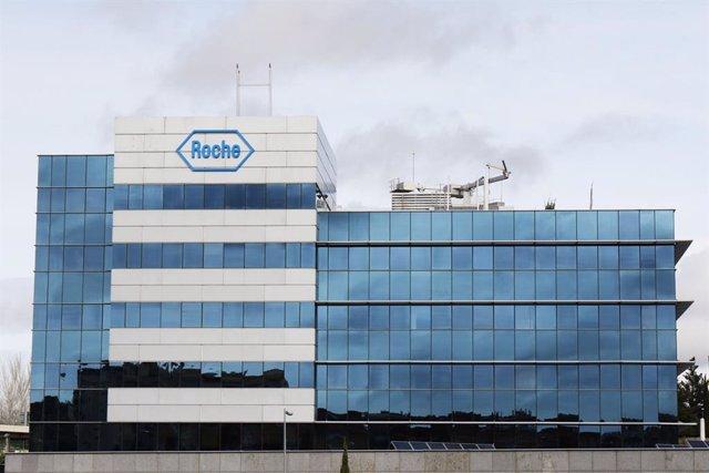 Sede central de la oficina de la compañía Roche en Madrid