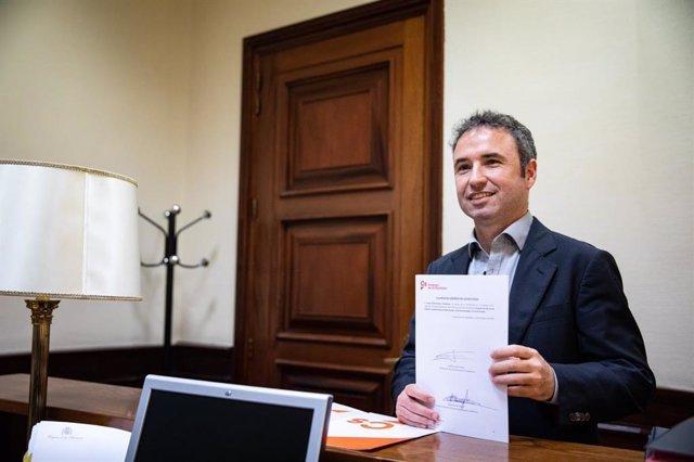 El secretario de Comunicación de la Gestora de Ciudadanos y diputado en el Congreso, Guillermo Díaz.