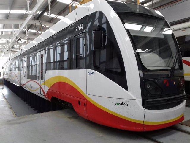 Un tren de SFM