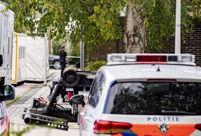 Policia dels Països Baixos en una imatge d'arxiu.