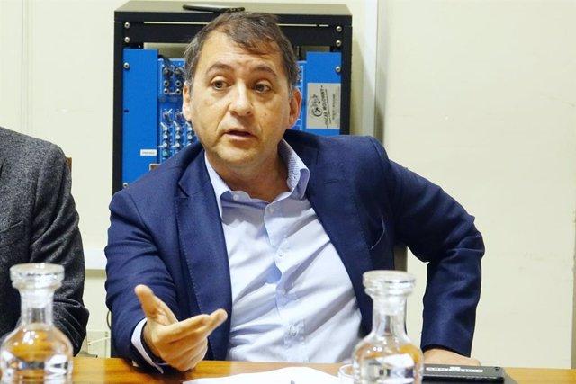 El presidente del grupo municipal de CC en el Ayuntamiento de Santa Cruz de Tenerife, José Manuel Bermúdez