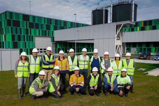 Visita de representantes del Consorci dels Residus del Vallès Oriental  al CMG