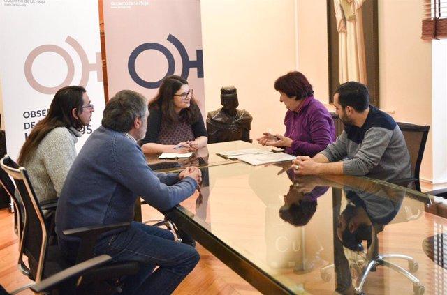 Reunión consejero, Raquel Romero, con foro Intervegas