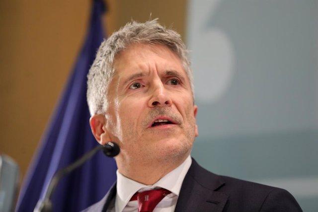 El ministre de l'Interior, Fernando Grande-Marlaska, en una imatge d'arxiu.