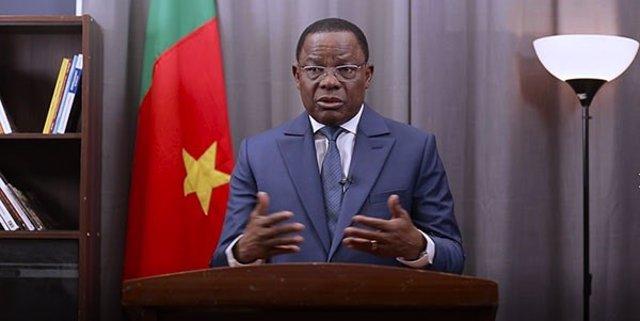 Maurice Kamto, presidente del partido camerunés MRC
