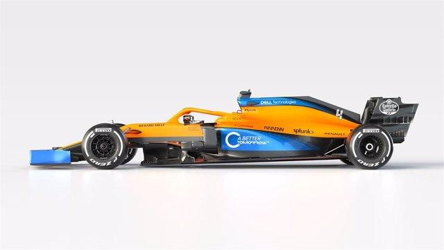 El nuevo monoplaza de McLaren para el Mundial 2020 de Fórmula 1, el MCL35