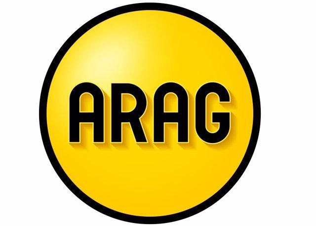 Logo de ARAG, líder del sector de los seguros de defensa jurídica