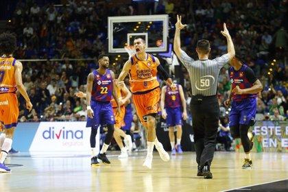El Valencia Basket se carga al Barça y asegura nuevo rey en Málaga
