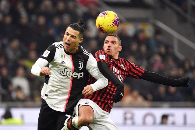 Cristiano Ronaldo, durante un partido con la Juventus.